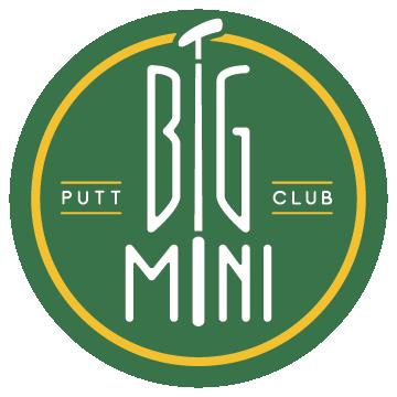 Green and yellow circular logo of the Big Mini